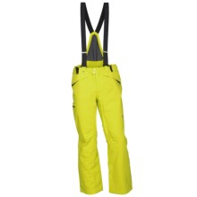 Spyder Bormio Ski Bib Pants - Waterproof, Insulated (For Men) in Acid - Closeouts