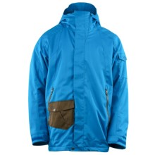 Spyder Brawler Jacket - Insulated (For Men) in Cost/Sergeant/Shroom - Closeouts