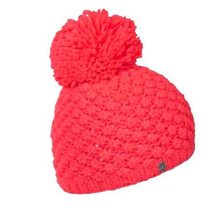 Spyder Brrr Berry Beanie (For Women) in Bryte Pink - Closeouts