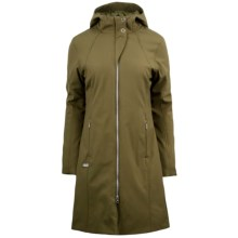 Spyder Central Parka - Soft Shell, Insulated (For Women) in Sergeant - Closeouts