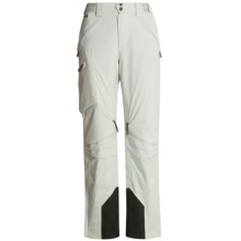 Spyder Chute Ski Pants - Waterproof, Insulated (For Women) in White Smoke - Closeouts
