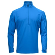 Spyder Commander Dry W.E.B. Shirt - Heavyweight, Zip Neck, Long Sleeve (For Men) in Collegiate/Collegiate - Closeouts