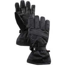 Spyder Conduct Overweb Gore-Tex® Ski Gloves - Waterproof, Insulated (For Men) in Black/Black - Closeouts