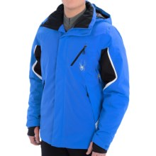 Spyder Control Ski Jacket - Insulated (For Men) in Stratos Blue/Black/White - Closeouts