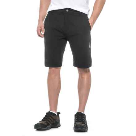 Spyder Convert Shorts (For Men) in Black - Closeouts