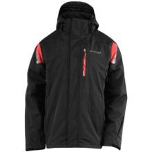 Spyder Core Component Systems Jacket - Waterproof, 3-in-1 (For Men) in Black/Red - Closeouts