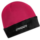 Spyder Core Sweater Hat - Cable Knit, Fleece (For Women)