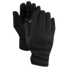 Spyder Core Sweater Knit Gloves (For Men) in Black - Closeouts