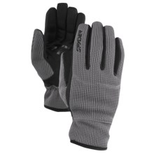 Spyder Core Sweater Knit Gloves (For Men) in Castle Rock - Closeouts