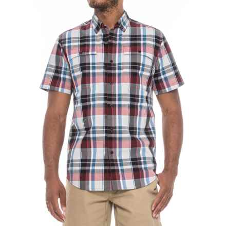 Spyder Crucial Shirt - Short Sleeve (For Men) in Red Plaid - Closeouts