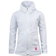 Spyder Damsel Jacket - Fleece (For Girls) in White - Closeouts