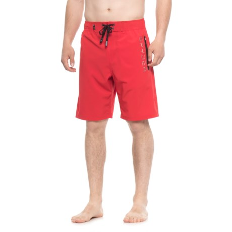 Spyder Eboard Logo Boardshorts - Red (For Men) in Red