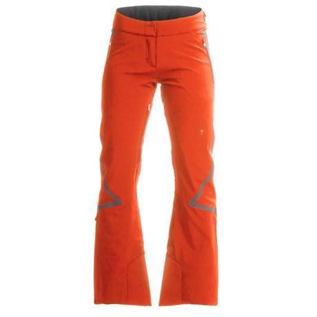 Spyder Echo Tailored PrimaLoft® Ski Pants - Waterproof, Insulated (For Women) in Burst/White