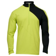 Spyder Eiger Dry W.E.B. Base Layer Top - Heavyweight, Zip Neck, Long Sleeve (For Men) in Sharp Lime - Closeouts
