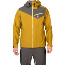 Spyder Eiger Shell Jacket - Waterproof (For Men) in Brazen/Polar/Sun - Closeouts