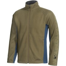 Spyder Fallen Patriot CORE Sweater Jacket - Midweight, Full Zip (For Men) in Sergeant/Denim - Closeouts