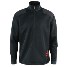 Spyder Fallen Patriot CORE Sweater Jacket - Midweight, Zip Neck (For Men) in 001 Black - Closeouts