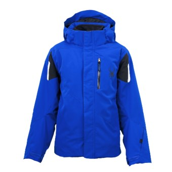 Spyder Fang 3-in-1 Core System Jacket (For Boys) in Just Blue/Black/White
