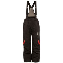 Spyder Force Ski Pants - Insulated (For Boys) in Black/Red - Closeouts