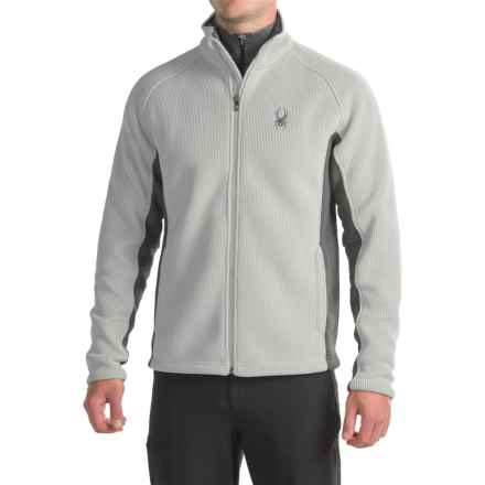 Spyder Foremost Heavyweight Jacket (For Men) in Cirrus/Polar - Closeouts