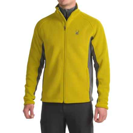 Spyder Foremost Heavyweight Jacket (For Men) in Sulfur/Polar - Closeouts