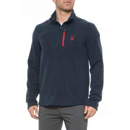 Spyder Frontier Transport Fleece Pullover Shirt - Zip Neck, Long Sleeve (For Men) in Frontier - Closeouts