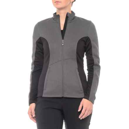 Spyder Full-Zip Fleece Knit Jacket (For Women) in Polar - Closeouts