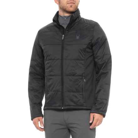 Spyder Glissade Jacket - Insulated (For Men) in Black - Closeouts