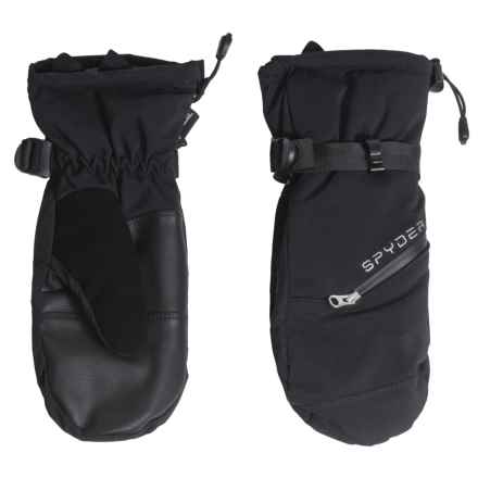 Spyder Gore-Tex® Vital Ski Mittens - Waterproof, Insulated (For Women) in Black - Closeouts