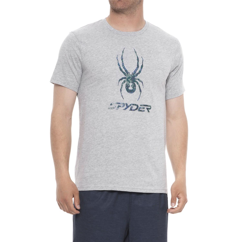 b392883ee53 Spyder Graphic T-Shirt - Short Sleeve (For Men)