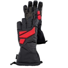 Spyder GT Gore-Tex® Ski Gloves - Waterproof (For Men) in Black/Volcano - Closeouts