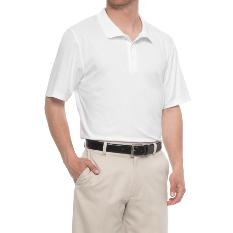 Spyder Hayden Mt. Teck Golf Polo Shirt - Short Sleeve (For Men) in White