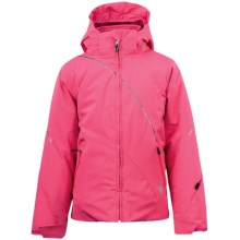 Spyder Hitch Core Jacket - 3-in-1 (For Girls) in Diva Pink - Closeouts