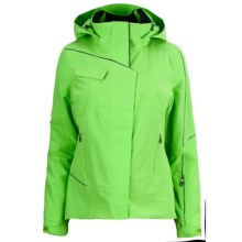 Spyder Hitch Ski Jacket - Waterproof, Insulated (For Women) in Green Flash - Closeouts