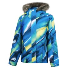 Spyder Hottie Jacket - Insulated (For Girls) in Taxi Fade Away - Closeouts