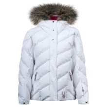 Spyder Hottie Jacket - Insulated (For Girls) in White - Closeouts