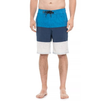 b8073595ef Spyder Hydro Series Color-Block Eboard Boardshorts (For Men) in Blue -  Closeouts