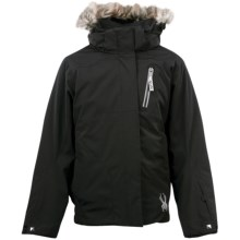 Spyder Lola Jacket - Insulated (For Girls) in Black - Closeouts