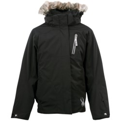 Spyder Lola Jacket - Insulated (For Girls) in Black