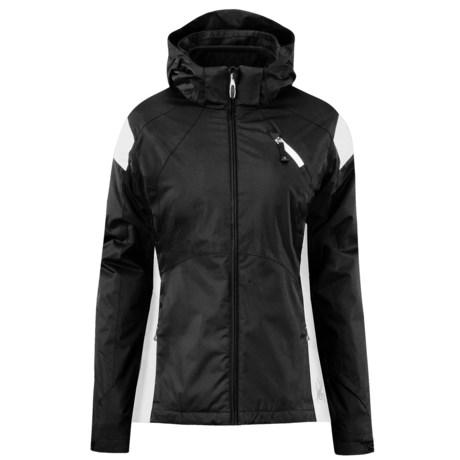 Spyder Magnolia Ski Jacket - 3-in-1, Insulated (For Women) in Black/White