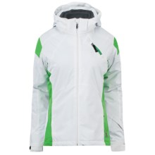 Spyder Magnolia Ski Jacket - 3-in-1, Insulated (For Women) in Wht/Kel - Closeouts