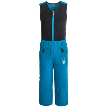 Spyder Mini Expedition Snow Bibs - Waterproof, Insulated (For Little Boys) in Concept Blue/Concept Blue - Closeouts