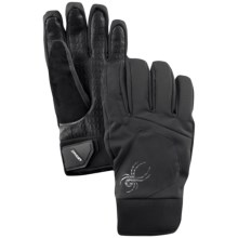 Spyder Mission Gore-Tex® Ski Gloves - Waterproof, Insulated (For Men) in Black/Black - Closeouts