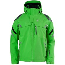 Spyder Monterosa Ski Jacket - Waterproof, Insulated (For Men) in Classic Green/Black/Classic Green - Closeouts