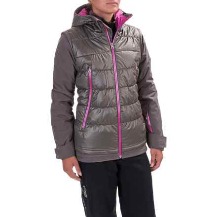 Spyder Moxie Ski Jacket - Waterproof, Insulated (For Women) in Weld/Weld/Voila - Closeouts
