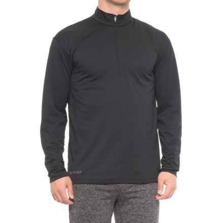 Spyder Mt. Kelso Dry W.E.B. Pullover Turtleneck - Zip Neck, Long Sleeve (For Men) in Black - Closeouts
