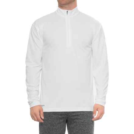 Spyder Mt. Kelso Dry W.E.B. Pullover Turtleneck - Zip Neck, Long Sleeve (For Men) in White - Closeouts