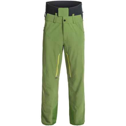 Spyder Nordwand Shell Ski Pants - Waterproof (For Men) in Mountain Top/Theory Green - Closeouts