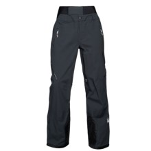 Spyder Nordwand Ski Shell Pants - Waterproof (For Men) in Black/Black - Closeouts