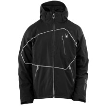 Spyder Omniverse Jacket - Waterproof, Insulated (For Men) in Black/Black/Black - Closeouts